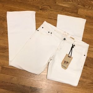 Chip & Pepper white flare jeans sz 15 NWT